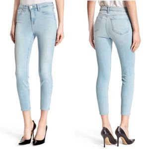 L'AGENCE Claudine High Rise Cropped Skinny